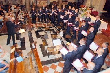 Dainas Vilniui dovanos garsus Italijos vyrų choras