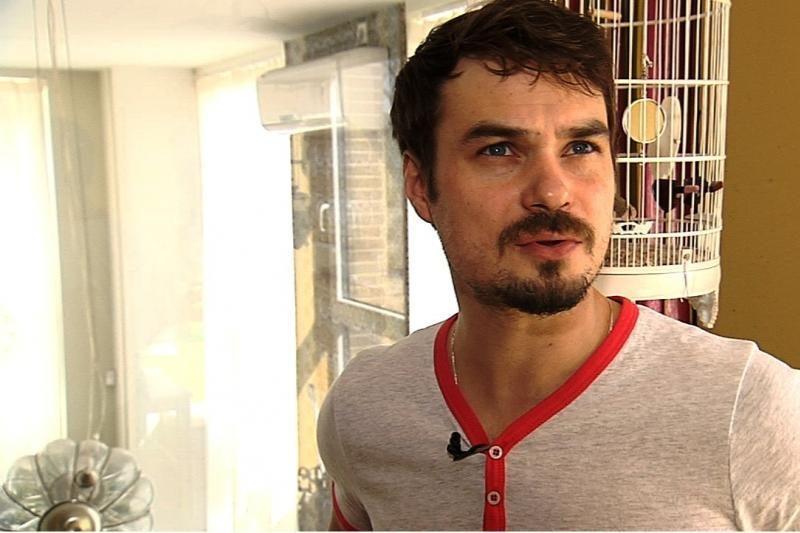 Aktorius L. Pobedonoscevas namuose mielai žaistų futbolą