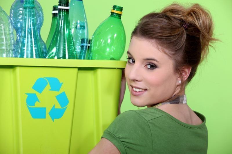 EK ieško būdų, kaip mažinti plastiko sunaudojimą