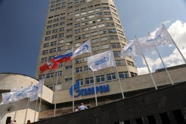 """""""Gazprom"""" Lietuvai graso tarptautiniu arbitražu"""