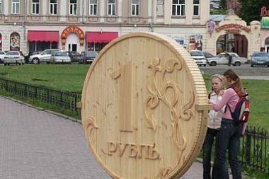 Daliai Lietuvos verslininkų pingantis Baltarusijos rublis tapo galvos skausmu