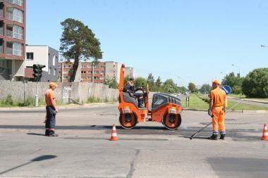 Ruošiamasi kapitaliniam Minijos gatvės remontui