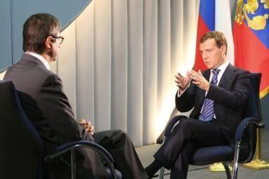 D.Medvedevas pratrūko nepadoriais epitetais