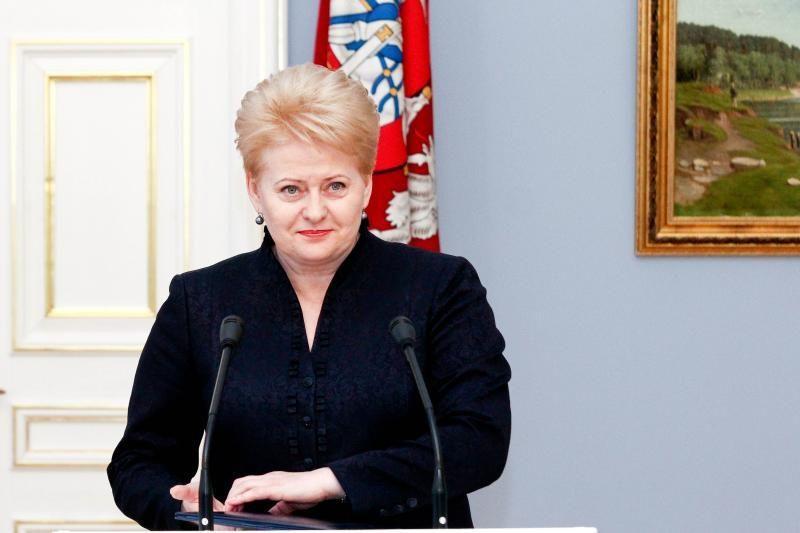 D. Grybauskaitė: ES problemoms spręsti pritrūksta politinės valios