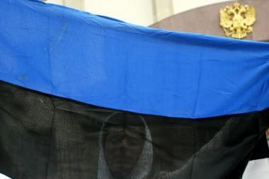 Estijoje pirmadienį bus iškeltos valstybės vėliavos