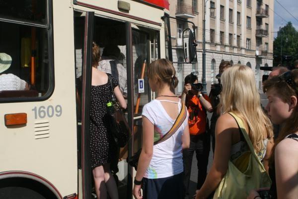 Vilniaus vicemeras auklėjo troleibuso vairuotoją