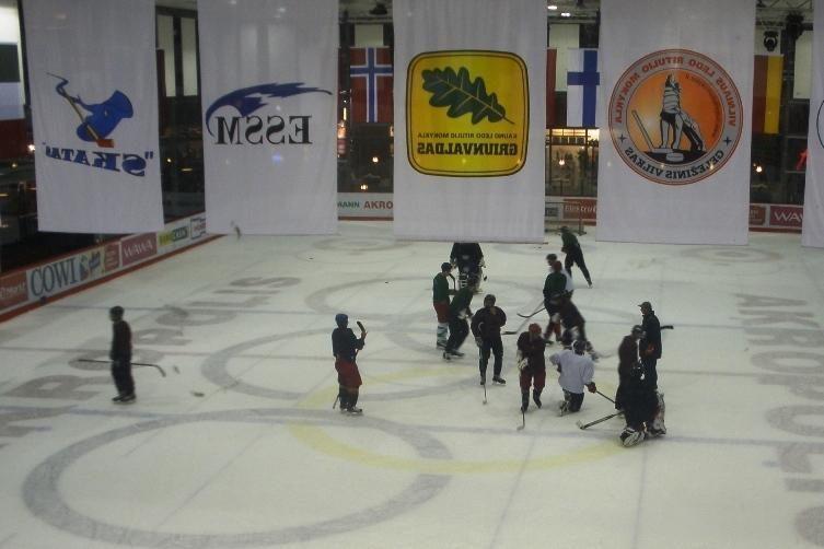 """Elektrėnų ledo ritulio derbyje - """"ESSM-Energijos"""" pergalė"""