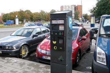 """Palangoje sužlugo """"parkomatų"""" pirkimo konkursai"""