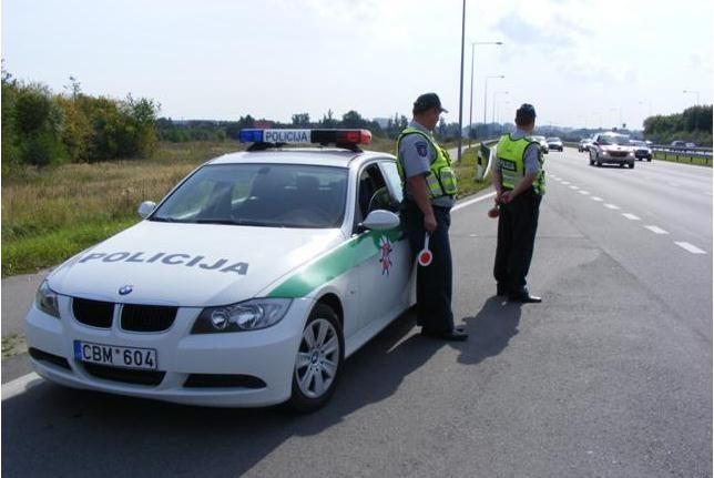 Pirmąją rugsėjo savaitę Klaipėdos apskrityje – 637 eismo pažeidimai