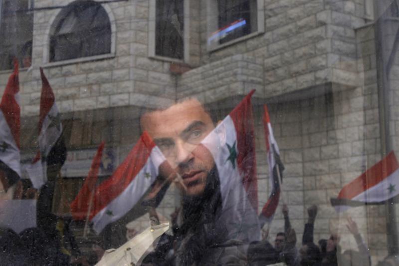 Sirijoje minimos sukilimo pradžios metinės