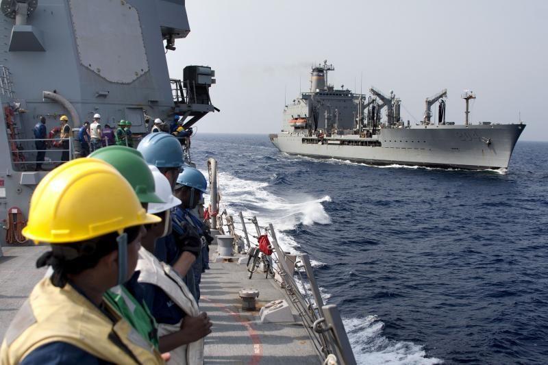 JAV kariniam laivui Persijos įlankoje apšaudžius laivelį, žuvo žvejys