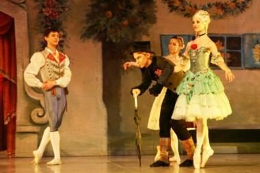 """Naujųjų metų išvakarėse - šventinis baleto spektaklis """"Kopelija"""""""