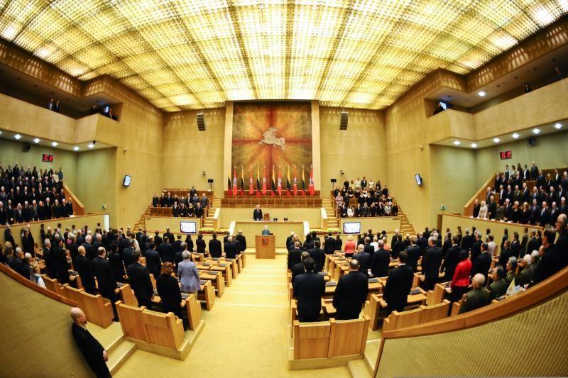 Prasidėjo Seimo eilinė pavasario sesija