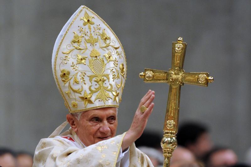 Popiežius pasveikino Elizabeth II jos valdymo jubiliejaus proga
