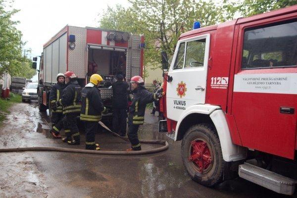 Vilniaus rajone padegtas katilinės pastatas