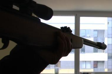 Iš legalių ginklų - nelegalūs šūviai
