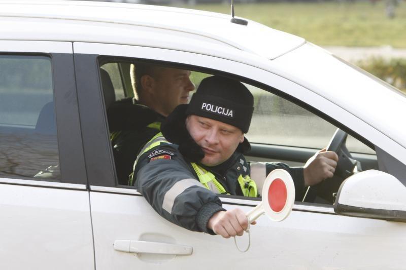 Policijos reido rezultatai: 25 vairuotojai sėdo prie vairo išgėrę
