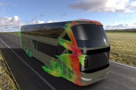 Kuo skiriasi autobuso ir vilkiko aerodinaminės savybės? (palyginimas)