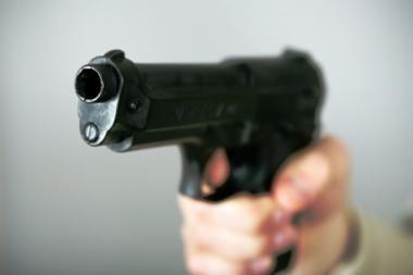 Į sostinės ligoninę dėl šautinių žaizdų paguldytas vyras