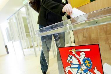Kretingoje suimti rinkėjų papirkimu įtariami vyrai (papildyta)