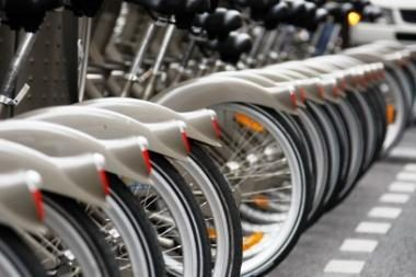 Niekas nenori terliotis su dviračių nuomos sistema Vilniuje