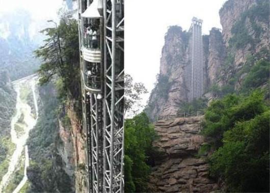 Į kur keleivius kelia aukščiausias pasaulyje liftas?