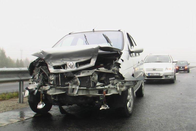 Per savaitę avarijose žuvo penki žmonės