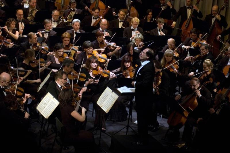 Lankytojus kviečia diriguoti virtualiam orkestrui