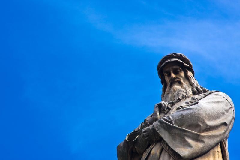 Italijoje galimai rasta seniai pradingusi Da Vinci freska