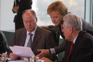 Vokietijos ekonomiką ištiko recesija