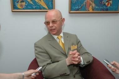 A.Vinkus iš diplomatinės tarnybos trauksis Neringos mero rinkimų dieną