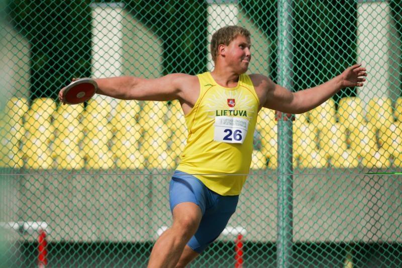 Disko metikas Audrius Gudžius Estijoje pagerino asmeninį rekordą