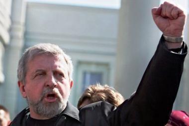 Baltarusijos opozicionierius A.Milinkevičius nekels savo kandidatūros į prezidentus