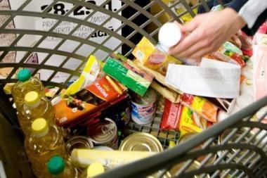 Pasaulyje - kritiškai mažai maisto atsargų