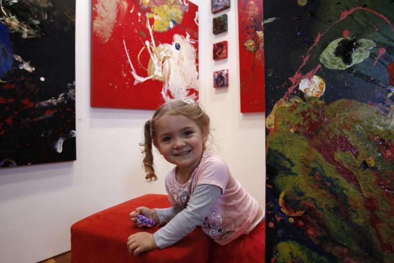 Penkiametė Niujorke pristato antrąją savo meno parodą