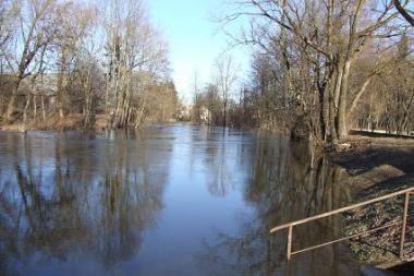 Nukentėjusieji nuo potvynio nepasikuklino