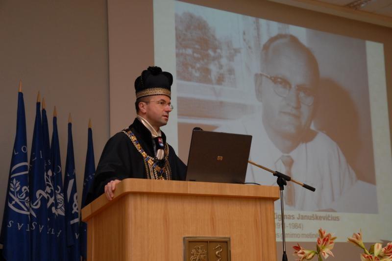 Pagerbtas garsaus kardiologo Z.Januškevičiaus atminimas