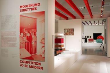 Dailės galerija atsisveikina su Šaltojo karo metų paroda