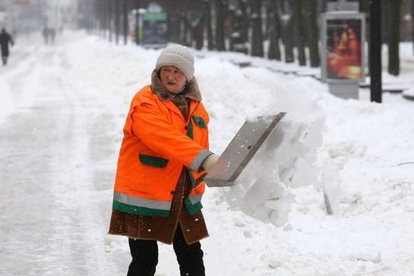 Lenkijoje daugėja šalčio aukų