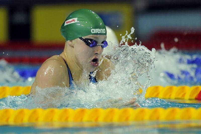 R. Meilutytė tarptautinėse varžybose pateko į du finalus