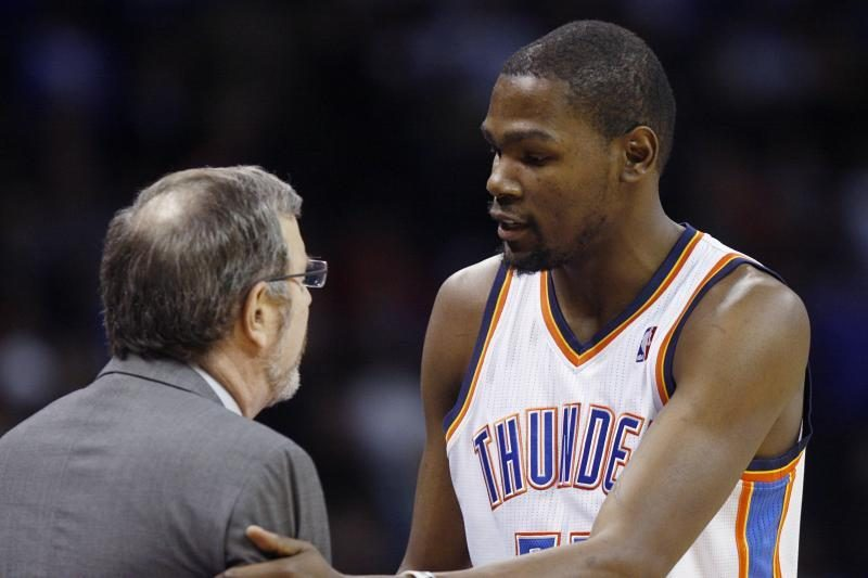 """""""Thunder"""" sutriuškinta namuose, K. Durantas išvytas iš aikštės (top10)"""