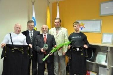 B.Vyšniauskui - Tarptautinio olimpinio komiteto prizas