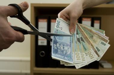 Vėl mažinamas Vilniaus biudžetas (papildyta)
