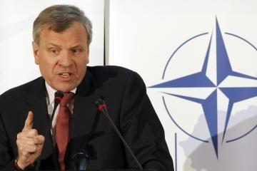 Baltijos šalys gali būti ramios, teigia NATO vadovas