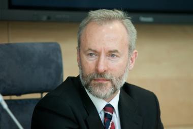 Razma: TVF siūlomas pensijų apmokestinimas – nesvarstytinas