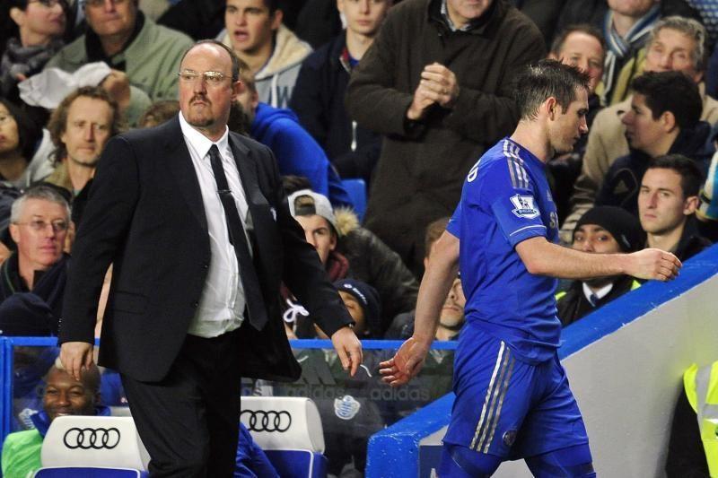 R. Benitesas nerauda dėl klubą paliksiančių F. Lampardo ir A. Cole'o