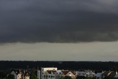 Orai Kaune: Rugsėjo 1-ąją pliaups smarkus lietus
