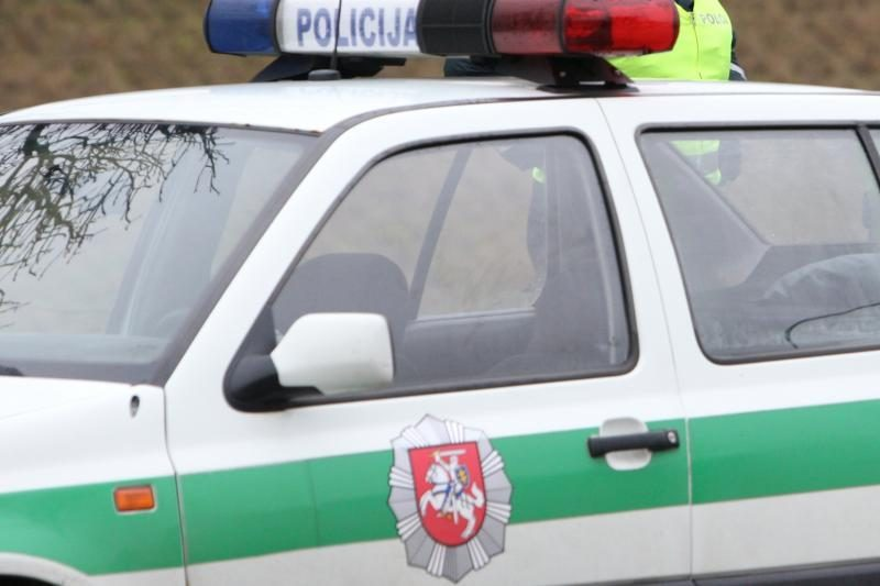 Iš avarijos vietos pabėgęs girtas vairuotojas netrukus buvo surastas