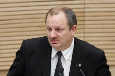 Šnekose apie korupciją Antikorupcijos komisijos pirmininkas K.Komskis - už borto