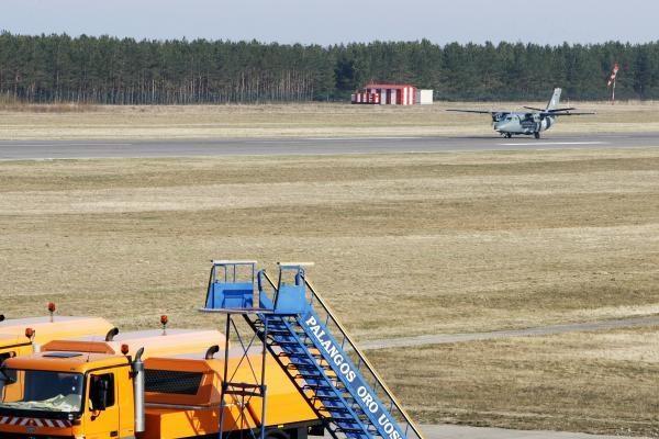 Palangos oro uoste rastas šovinys